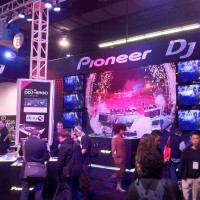 Pioneer had to have one of the biggest booths at the show